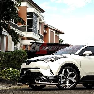 Modifikasi Toyota All New C-HR, Sporty Look dengan High Sound Quality