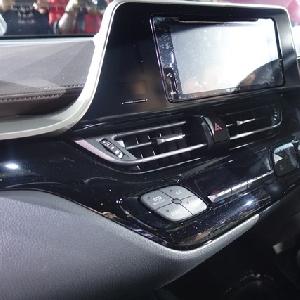 Sistem hiburan All New C-HR dengan layar 7 inci, yang memiliki weblink application dan multitasking window.Serta AC dual zone dengan digital display.