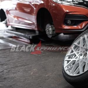 All New Honda Jazz Part II - Tak Perlu Repot Memodifikasi Kaki-Kaki New Honda Jazz
