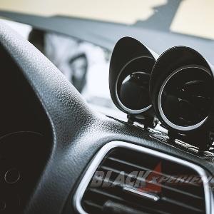 Modifikasi VW Scirocco Racing Look Yellow-Black Nyentrik Menggoda