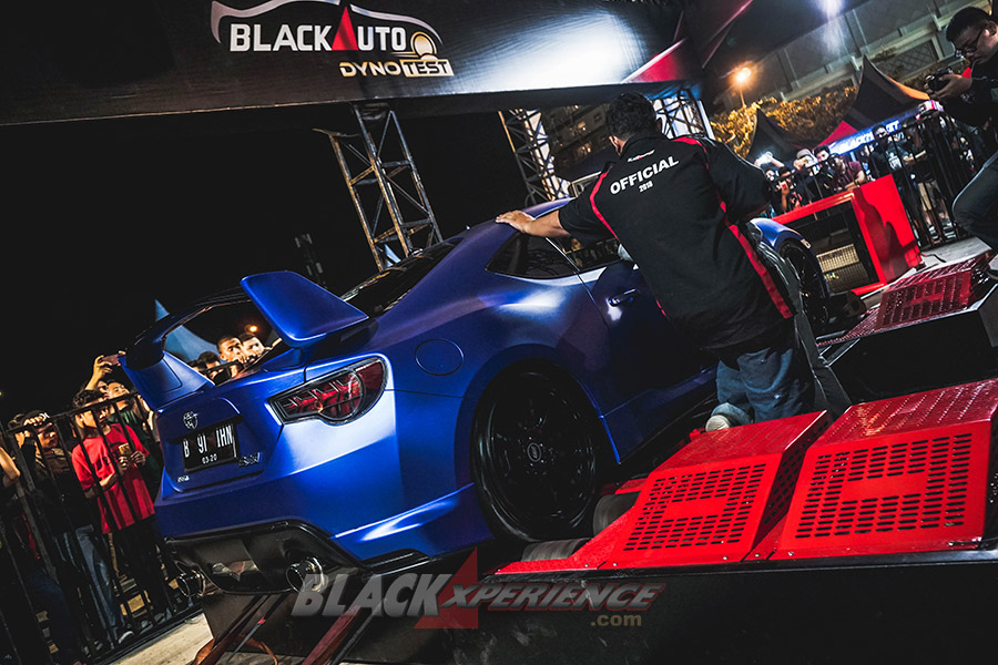 BlackAuto Battle Makassar 2018 - BlackAuto Dyno Test