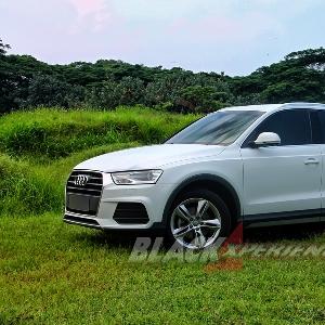 Garis siluet pada Audi Q3 memberi kesan DInamis