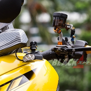 Modifikasi Yamaha X-Max 2017, Fans Berat Bumblebee