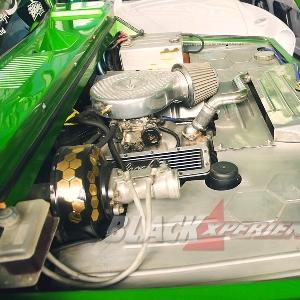 Mesin Swap V8 Edelbrock Amerika Muscle