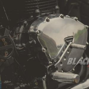 Modifikasi  Triumph Bonneville T100, The Green Bonnie  Andalan  Touring dan Sunmori
