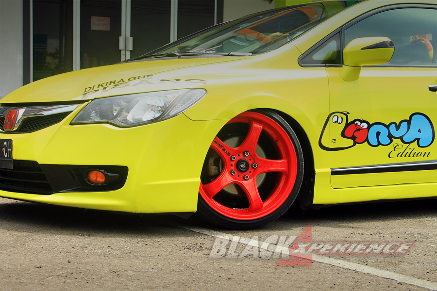 Modifikasi Civic FD1 Stance Lover