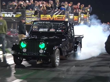 Beginilah jika Jeep di Sematkan Turbocharger