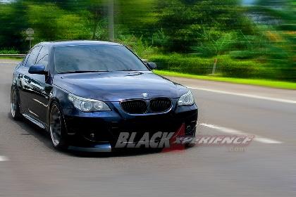 Modifikasi BMW 530i Tampilan Elegan, Tenaga Melimpah