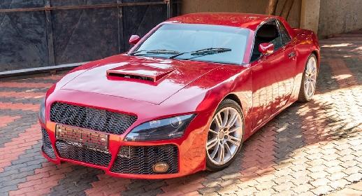 Sport Car Handmade Musa Ngobeni, dari Afrika Selatan
