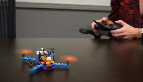 Flybrix, Drone Lego Anti Rusak