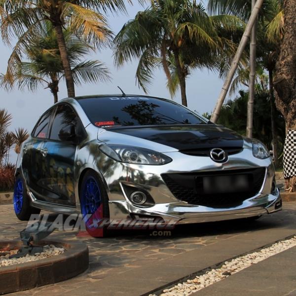 The Minion Inspirasi Modifikasi Mazda2 Street  Racing  Milik Jalsion