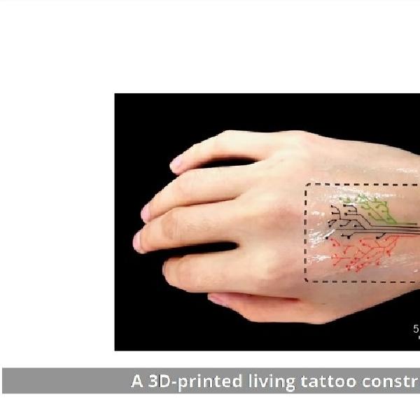 Living Ink, Deteksi Material Berbahaya yang Tersebar di Udara