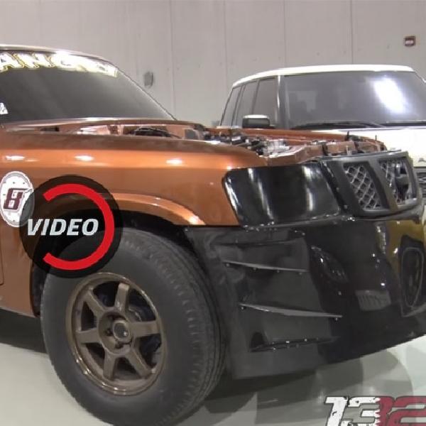 Modifikasi Nissan Patrol Bertenaga 2.500 hp