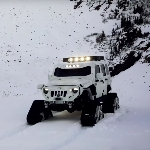 Modifikasi Jeep JK Arctic Frog