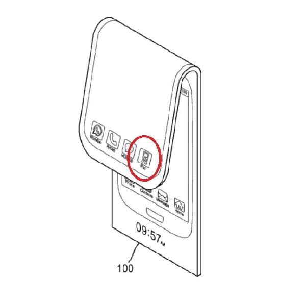 Samsung Ajukan paten Smartphone Lipat Hibrida