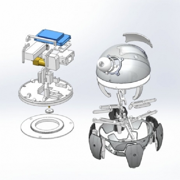 Xpider, Robot Laba-Laba Berbasis 3D Printing
