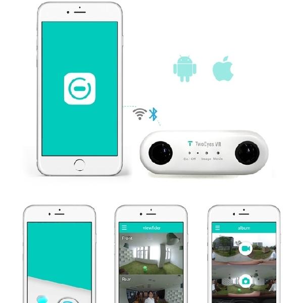 TwoEyes VR 360 - Kamera Binokular 360 VR Pertama di Dunia
