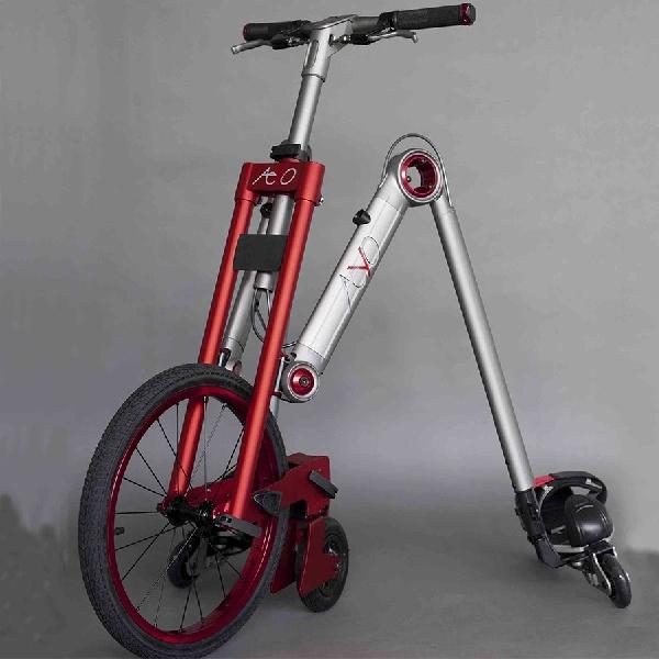 Aeyo Gabungkan Sepeda, Skuter dan Sepatu Roda Dalam Satu Unit