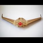 Tanpa Mesin Dan Propeller, Drone Kardus Ini Bisa Mengudara