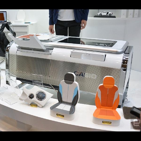 Mofrel, Printer 2.5 D Canggih Besutan Casio