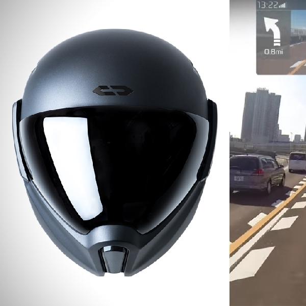 CrossHelmet X1, Helm Pintar Dengan Segudang Fitur Keselamatan