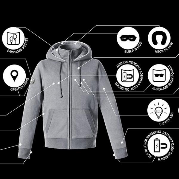 Hallam Smart Jacket, Satu Jaket untuk Semua Aktivitas