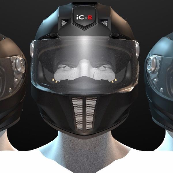 Helm Futuristik Ini Punya Segudang Fitur Mutakhir