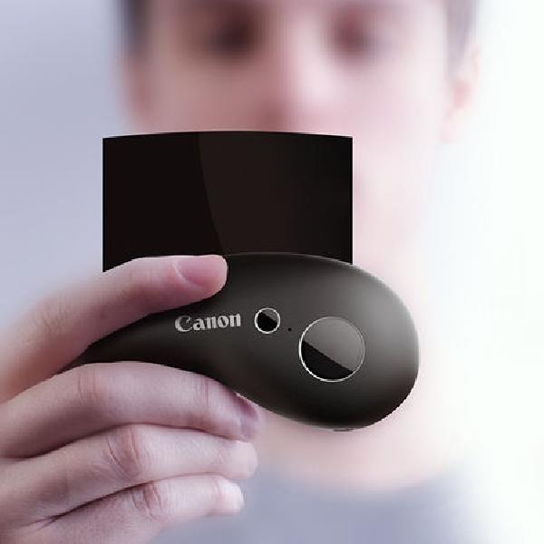 Ini Desain Kamera Lengkung, Nyaman dan Ringkas