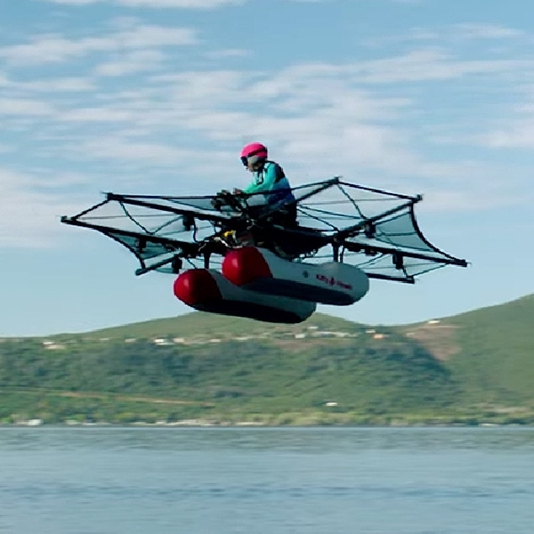 Kitty Hawk Flyer, Konsep Canggih Mobil Terbang Bikinan Co-founder Google