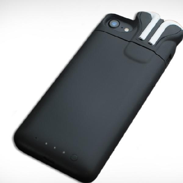 Case Ini Bisa Isi Ulang Baterai iPhone 7 Dan AirPods Bersamaan