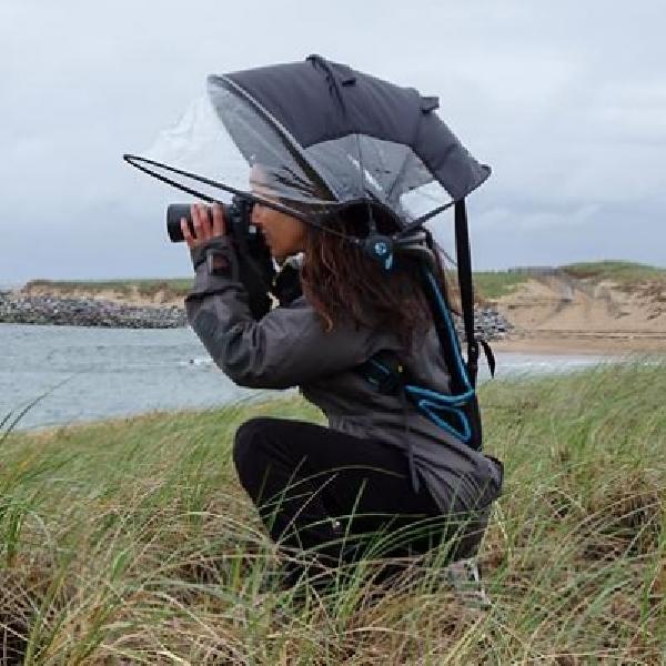 Motret Aman Dengan Payung Inovatif Ini
