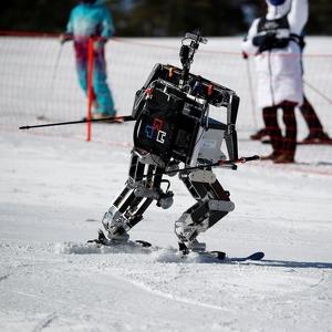 Adu Cerdik Robot Ski, Ajang Pembuka Winter Olympics