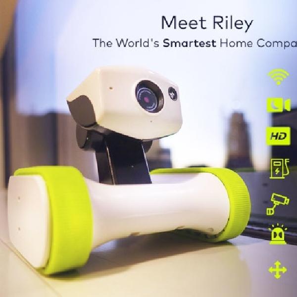Perkenalkan Riley, Robot CCTV Penjaga Rumah