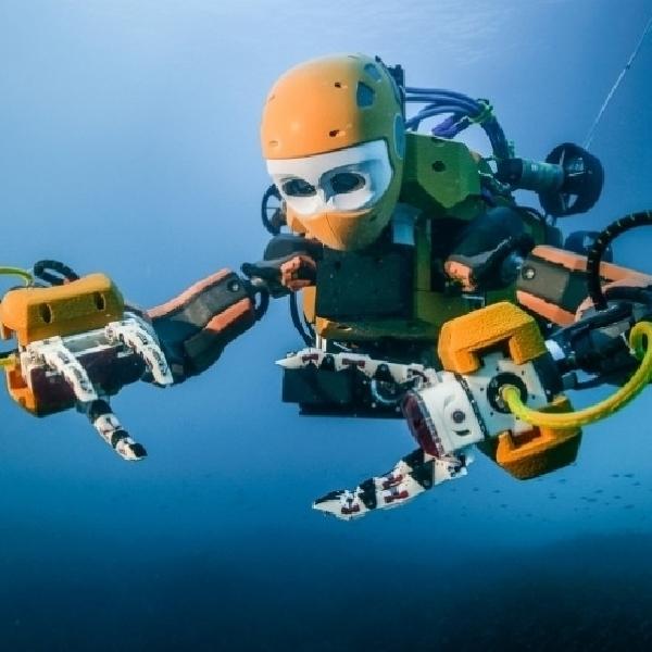 Hebat, Robot ini Dapat Menyelam dan Mencari Harta Karun
