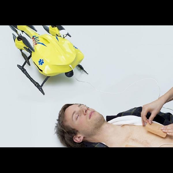 Wow, Drone Ini Mampu Selamatkan Penderita Serangan Jantung