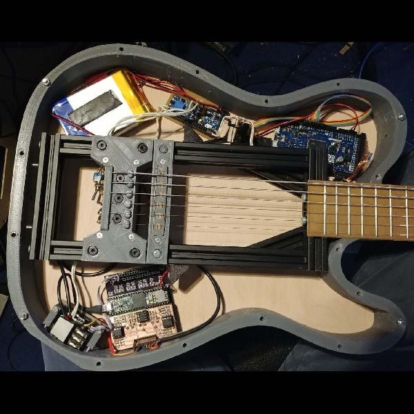 Gitar Ini Dibuat Menggunakan 3D Printer