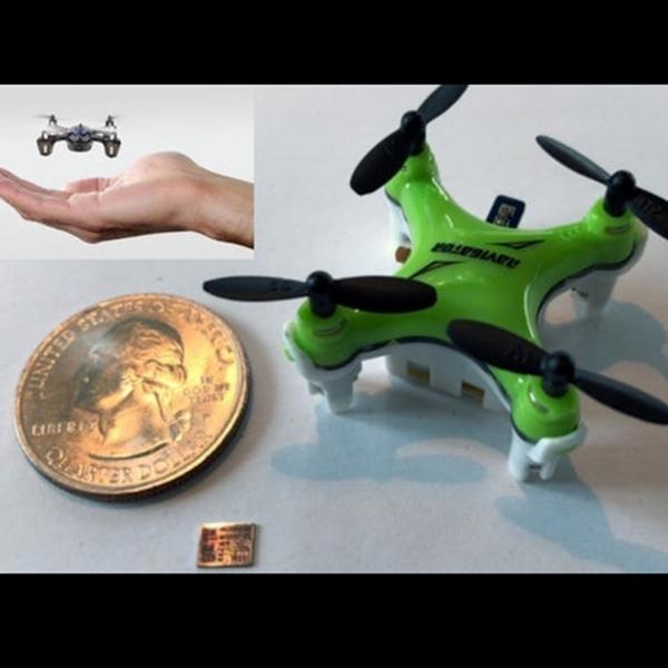 Canggih, Drone Super Mini Ini Kemampuanya Hebat