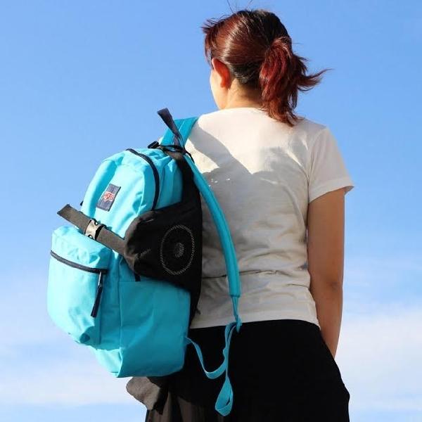 Kucho, Aksesori Backpack Mampu Dinginkan Badan Hingga 44 Jam