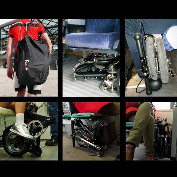 Kwiggle - Sepeda Lipat Terkompak di Dunia