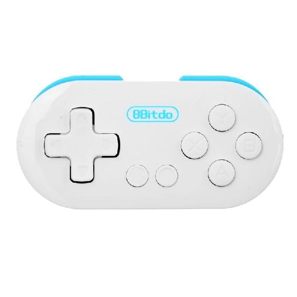 Zero 8Bitdo, Kontroler Game Portable Seukuran Gantungan Kunci