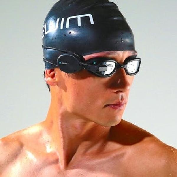 Kacamata Renang Pintar Zwim Goggles Berfitur Head Up Display