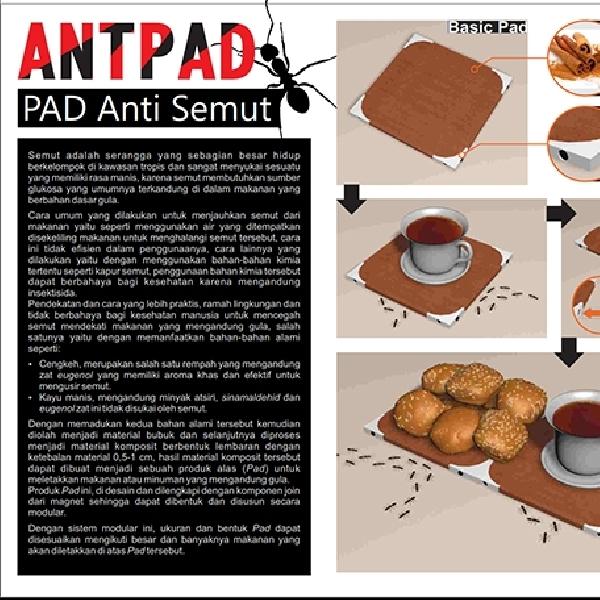 Pad Modular Ini Manjur Usir Semut dari Makanan-Minuman Manis