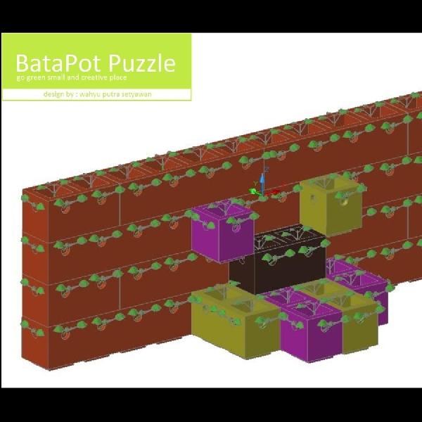 BataPot Puzzle: Solusi Lahan Penghijauan di Metropolitan