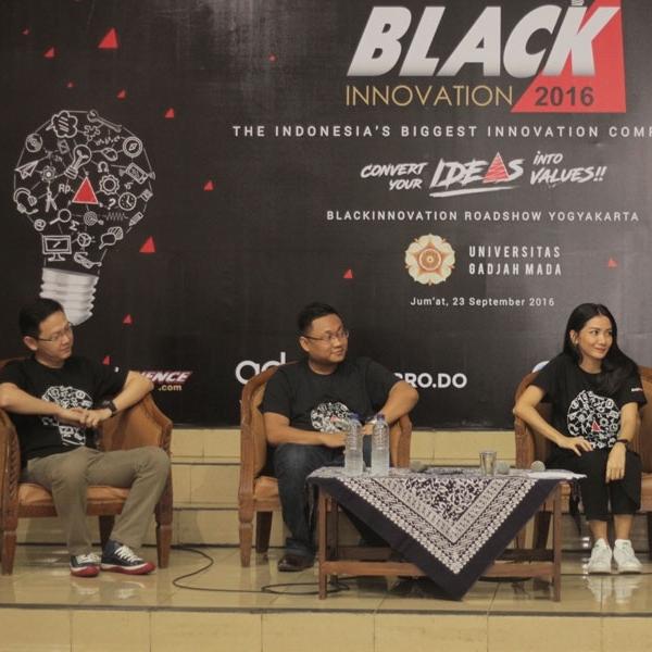 Generasi Muda Jogja Siap Ubah Ide Jadi Nyata di BlackInnovation 2016