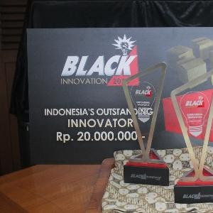 Juara Black Innovation 2015 Angkat Piala, Ajang Berakhir, Inovasi Jalan Terus
