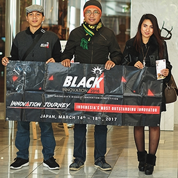 Innovation Journey ke Jepang Menutup Perjalanan Tiga Inovator Terbaik di BlackInnovation 2016
