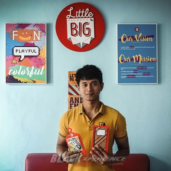 Angga Dewa, Kreator Dompet Kertas Little Big Paper