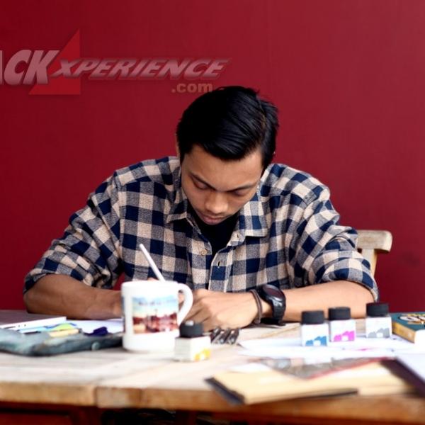 Eko Fitriono, Hand Lettering dan Calligraphy Artwork