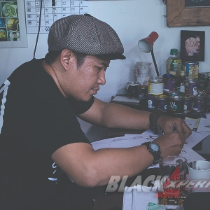 Fahmi Freeflow, One of the Best Indonesia's Pinstripper