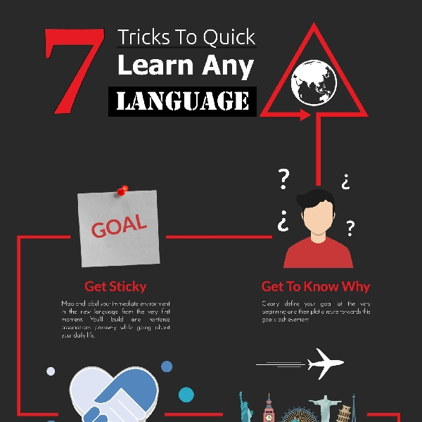 7 Trick to Quick Learn Any Language